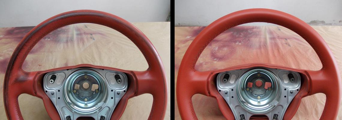 volante prima e dopo